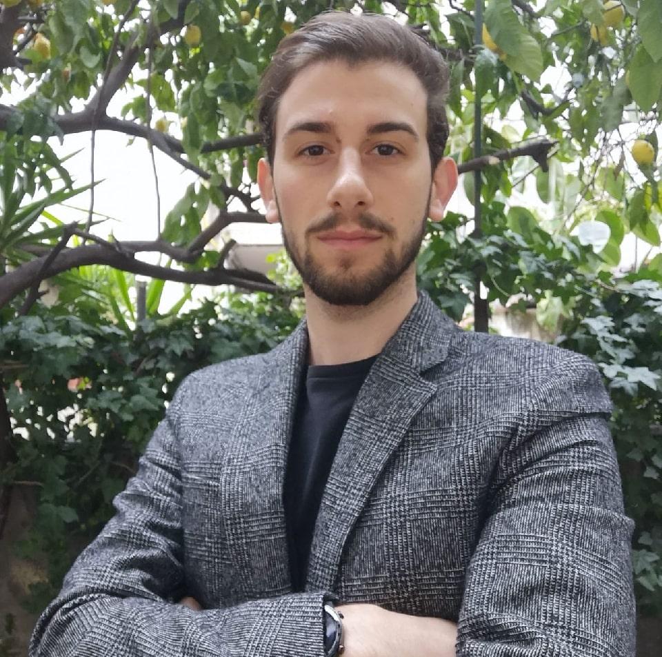Mattia Esposito organizzatore della terza edizione del premio cesare filangieri